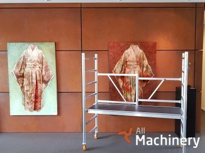 CUSTERS Foldable Scaffolds mobilūs bokštiniai pastoliai
