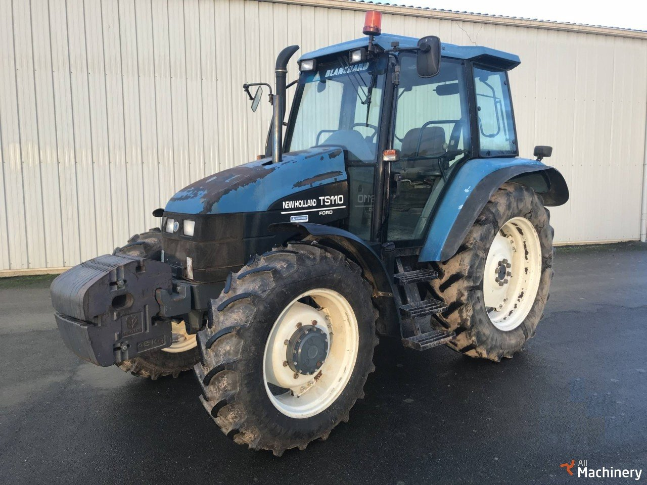 Classified Ads - NEW HOLLAND TS110 4WD Wheel tractors