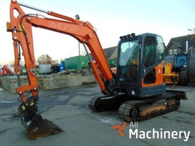 DOOSAN DX60R mini ekskavatoriai 1-7 t.